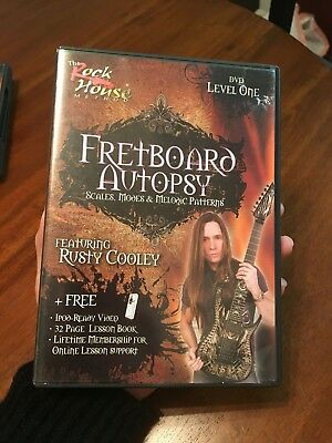 Rusty Cooley, Fret Board Autopsy - Scales, Modes & Patterns Level 1 (DVD)
