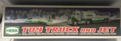Hess Toy truck With Jet (2010 Hess Toy Truck) Mint in BOX