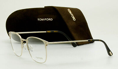 20096ba2a2b3d TOM FORD Eyeglass Frame FT5453 029 Brushed Gold 54mm TF5453 029  AUTHENTIC