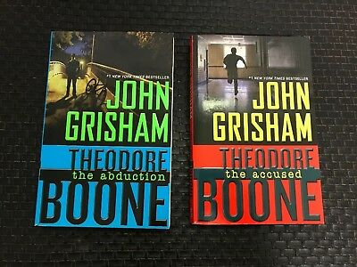 Theodore Boone 2 PB Lot ~ Accused & Abduction ~ John Grisham Young Adult Books