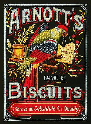 Arnott's Parrot - Cross Stitch Chart by Country Threads