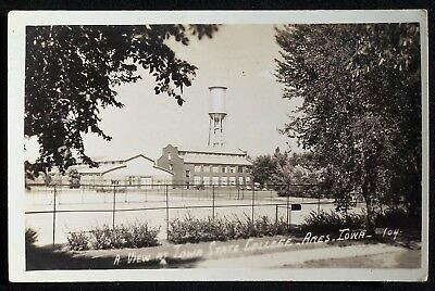 IA Ames View at Iowa State College 1944 Postcard