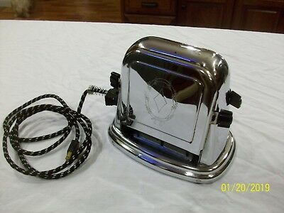 Vintage Bersted Model 71 toaster Tested and Works with Original Cord