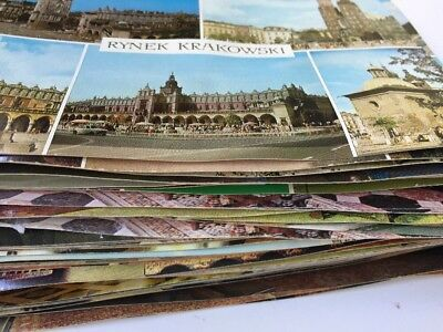 Lot 50+ Krakow Poland Postcards Museum Castle Interiors Tapestry Town Streets