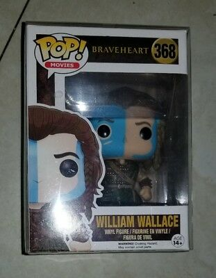 William wallace braveheart funko pop movies with pop protector