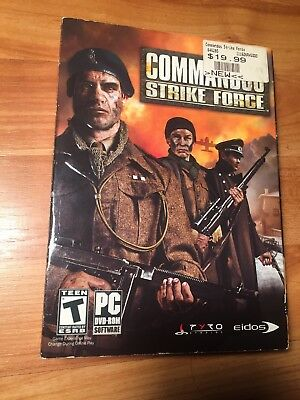 Commandos strike force for ps2 £3. 49   picclick uk.