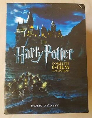 For Harry Potter DVD 1-8 Movie Complete Collection Films Box Set, reigon 4