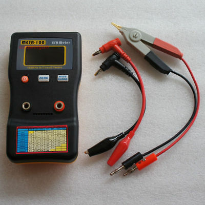 MESR-100  Ohm In Circuit test Capacitor meter include SMD Clip Probe