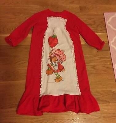 Strawberry Shortcake Vintage PAIR OF NIGHTGOWNS Size About 6