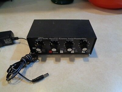 MFJ-959C - Receiver Tuner With Built In 20dB Preamp (1.6 To 30MHz)