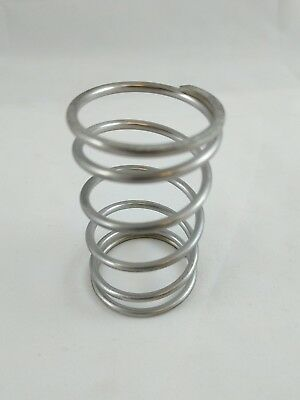"""Compression Spring, 316 Stainless Steel, Inch, 1.46"""" OD, 0.112"""" wire  PACK of 10"""