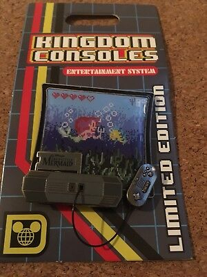 Kingdom Consoles The Little Mermaid Ariel and Flounder LE Disney Pin