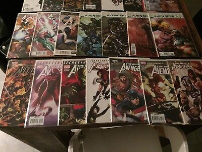 50 comic lot Dark Avengers and Mighty Avengers