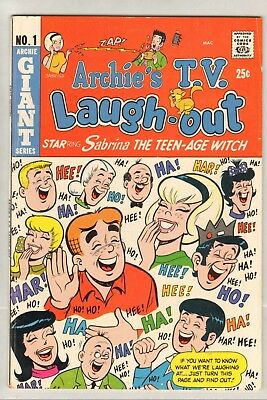 Archie's TV Laugh-Out #1 (FN/VF) (1969, Archie) Sabrina!