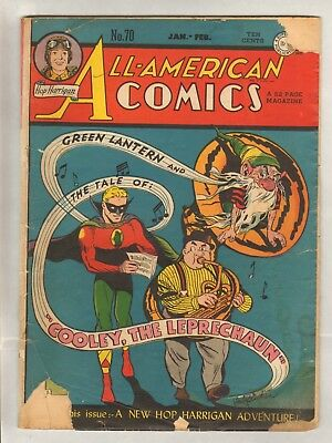 All-American Comics #70 (GD/VG) (1946, DC)