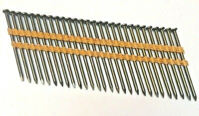 "840 Grip Rite Collated 21* Framing Nails 3"" Plastic Strip Round Head Smooh Shank"