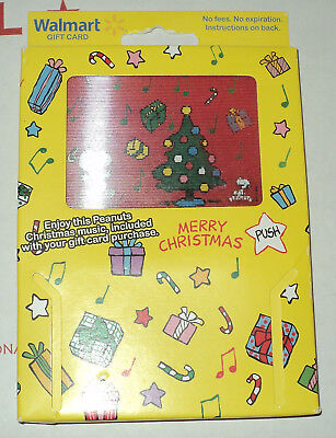 Brand New Walmart Promotion Card - PEANUTS Snoopy Christmas!!!