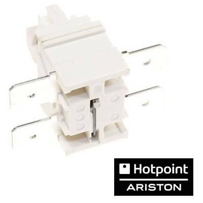 ARISTON C00142650 Inter bipolaire lave vaisselle INDESIT ON OFF poussoir