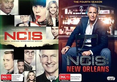 NCIS Season 15 + NEW ORLEANS 4 (Region 2 UK Compatible) DVD The Complete Series