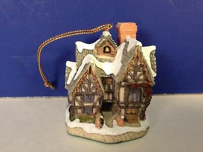 David Winter Cottages SCROOGE'S SCHOOL ORNAMENT w/ box Combine Shipping!