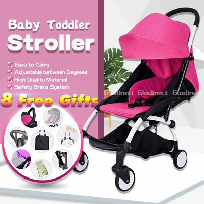 2019 Compact Lightweight Baby Prams Stroller Foldable Plane Carry On Travel