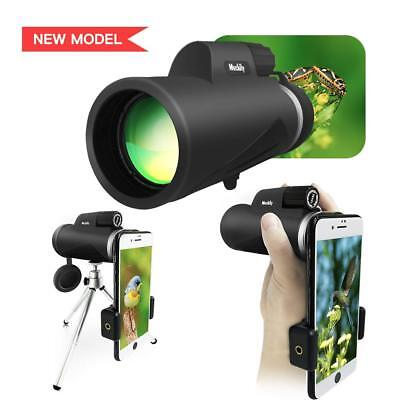 Monocular Telescope 12X50 High Power Monocular Single Hand Focus Telescope Optic