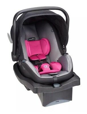 Evenflo LiteMax 35 Platinum Infant Car Seat Roslyn Carrier