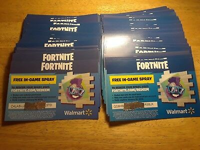 Fortnite disco boogie spray (walmart) Disco  Boogie Spray Redemption Code