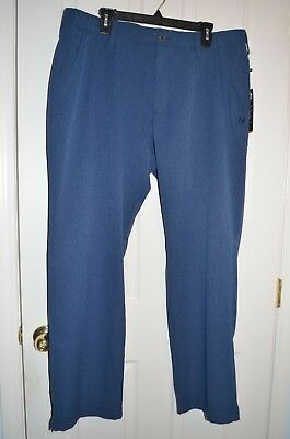 Under Armour UA Match Play Vented Blue Golf Pants 1259430 NWT Szs 36, 40