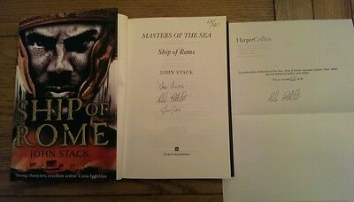 Ship of Rome SIGNED LIMITED EDITION DATED NUMBERED John Stack Hardback 2009
