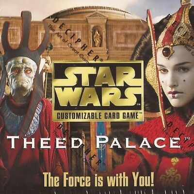 Rare Singles [choose card & condition] THEED PALACE star wars ccg swccg