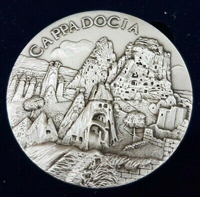 Ca Ppa Doci Ministry Of Culture And Tourism Turkey Medallion
