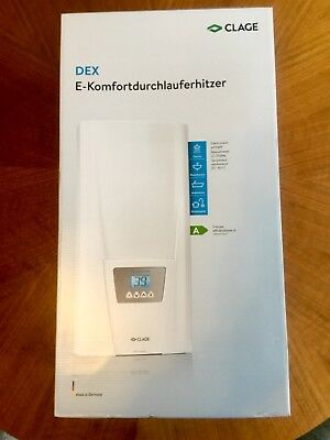 CLAGE DEX DURCHLAUFERHITZER ELECTRONIC MPS MPS 400 V 3~, 18..27 kW
