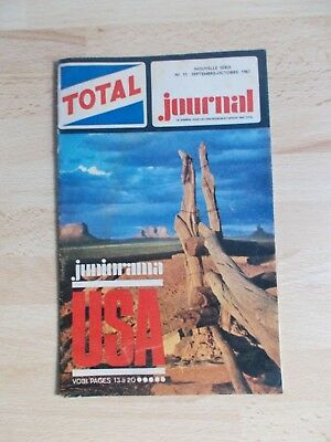 Journal station service TOTAL N°11 1967 / USA