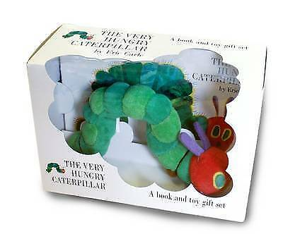 New The Very Hungry Caterpillar Plush Toy Book Set - Great Christmas Gift