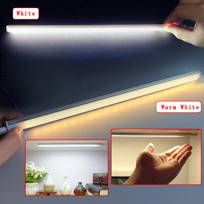 30CM LED Touch Sensor Switch Light Closet Light Bar Wardrobe Cabinet Night Lamp