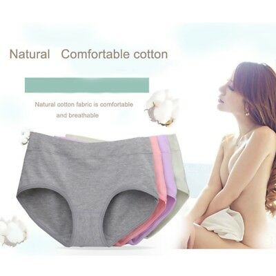 Mother Large Code Soft Seamless Plus Pregnant Womens Panties Briefs Underwear
