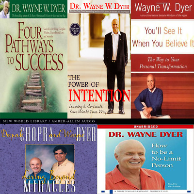 Wayne Dyer Audiobook Colleciton (Mp3, Download)