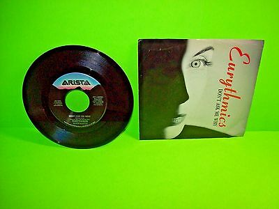 """Eurythmics – Don't Ask Me Why / Rich Girl 7"""" Vinyl Record 1989 SynthPop Electro"""