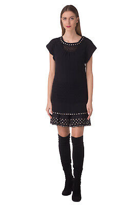 DIESEL BLACK GOLD Cocktail Dress Size 38 / XS Embroidered DUSTOM RRP €365