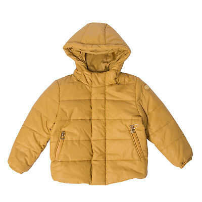 HISTORIC RESEARCH Quilted Puffer Jacket Size 2Y Elasticated Cuffs Hooded