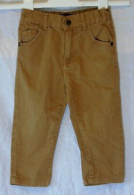 Baby Boys Life & Legend Brown Adjustable Waist Chino Jeans Age 18-24 Months