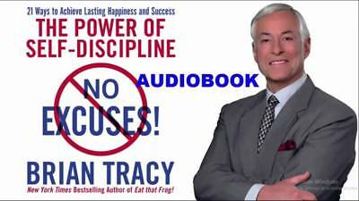 No Excuses The Power of Self Discipline Audiobook - Brian Tracy (Mp3, Download)