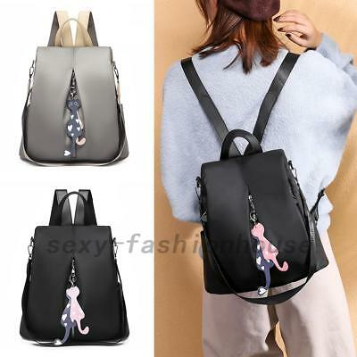 Women Fashion Anti-theft Oxford Backpack Travel Rucksack Shoulder Bags New