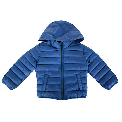 WOOLRICH Down Quilted Jacket Size 2Y / 24M Concealed Hood Full Zip RRP €480