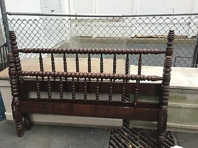 Antique Jenny Lind Double Bed no rails