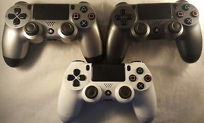 Official Sony Playstation 4 wireless controller/pad - *Minor Faults/Worn*