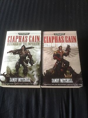 Hero/defender of the Imperium by Sandy Mitchell, Ciaphas Cain Omnibus's