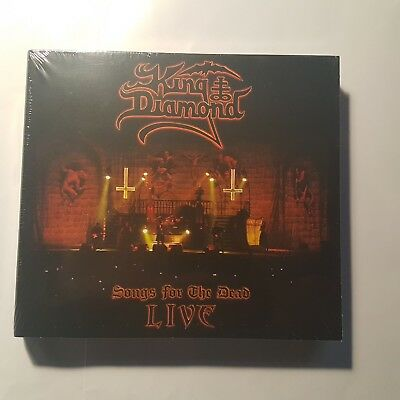 KING DIAMOND - Songs for the Dead LIVE - Digipak DVD+2CD