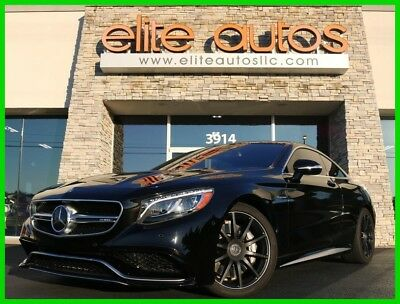 2016 Mercedes-Benz S-Class S63 Coupe s63 Coupe S 63 4MATIC Carbon Fiber Interior $187k+ MSRP only 9k miles
